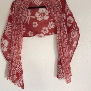 Hawaiian scarf